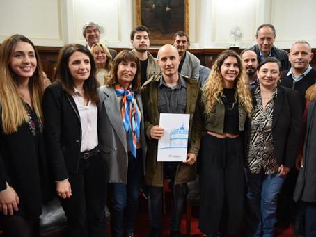 el consejo deliberantes declara a juaga de interes municipal
