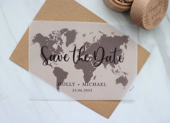 Nomad Collection | Save the Dates