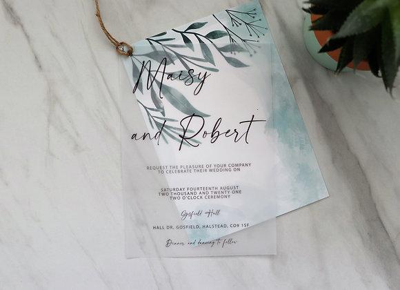 Fresh Collection | Vellum Wedding Invitations