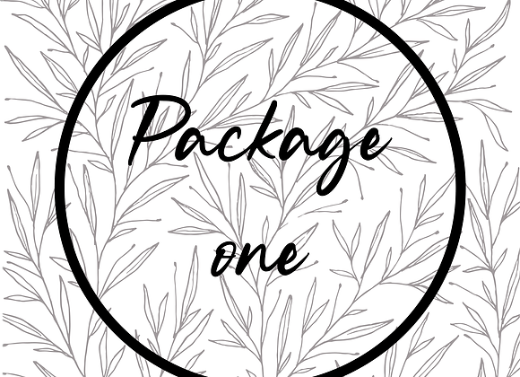 Package 1 | You're invited