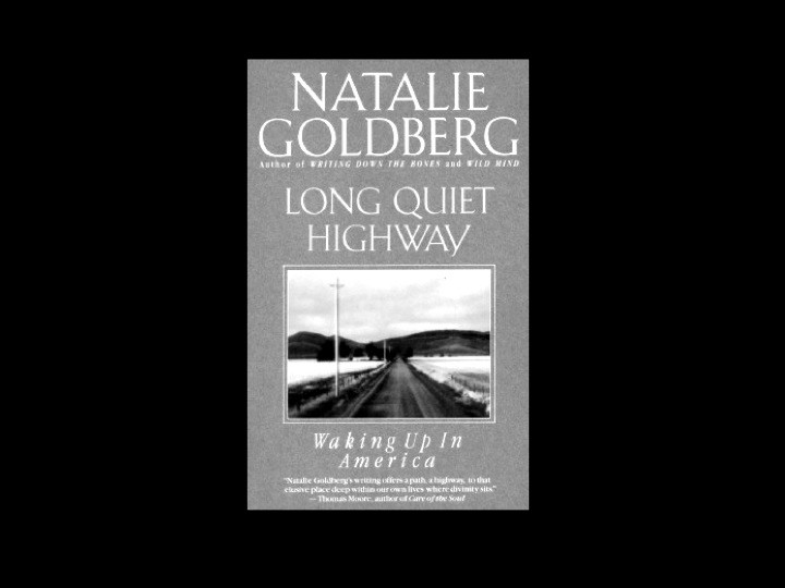 Book cover: Long Quiet Highway by Natalie Goldberg