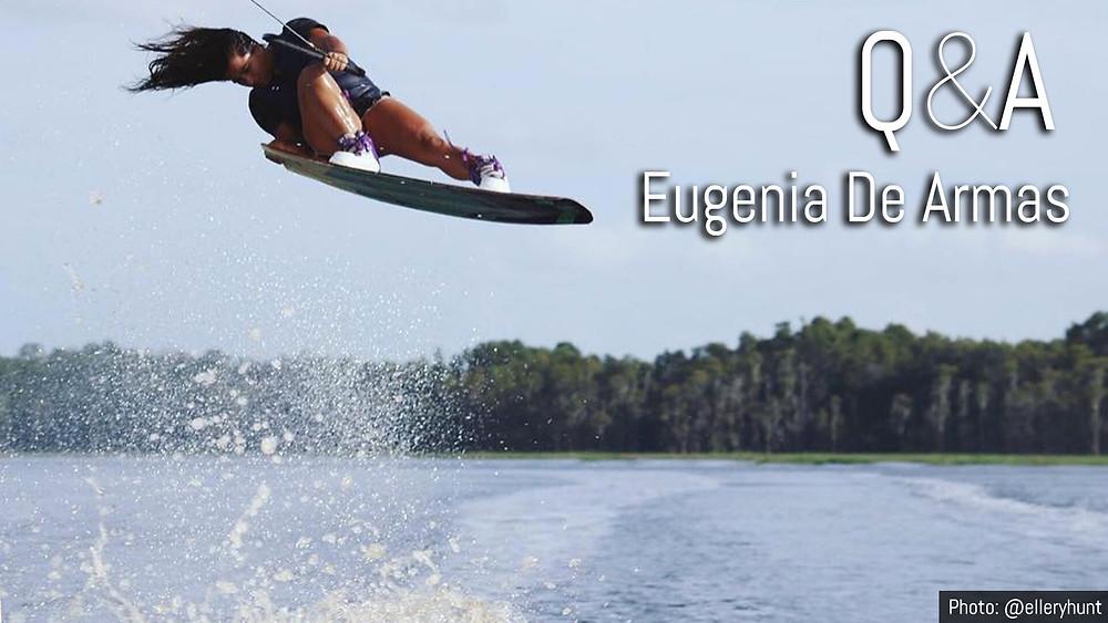 wakeboard trick eugenia de armas