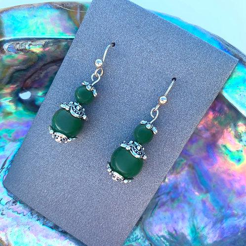 Jade (Greenstone) Earrings