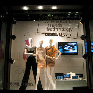 Fashion meets technologies, at Sony Style with Cushnie et Ochs