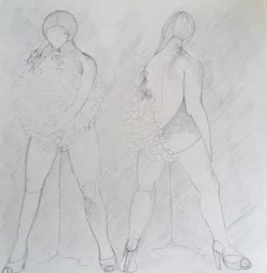 Domenica Bucalo #7 Girls will be Girls - drawing 2018