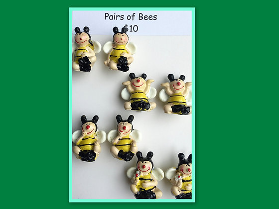 Miniature Pack: Bees for Barrier Games and Sand Play