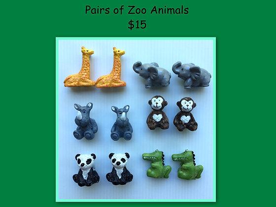 Miniature Pack: Zoo Animals