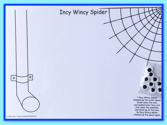 Mat Pack: Incy Wincy and Web
