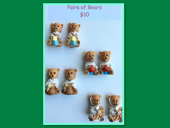 Miniature Packs: Bears - for Barrier Games and Sand Play