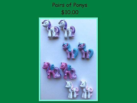 Miniature Pack: Ponys