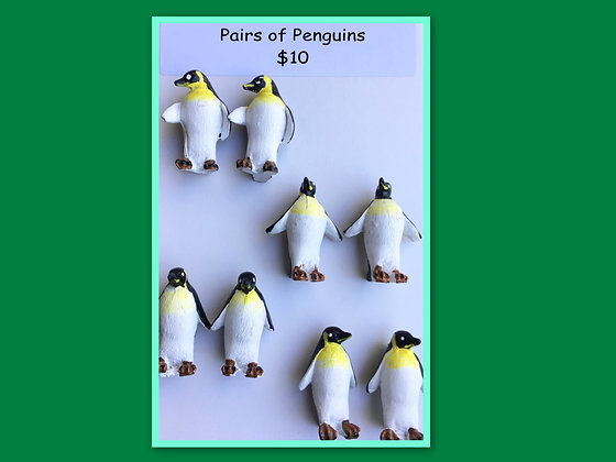 Miniature Packs: Penguins for Barrier Games and Sand Play