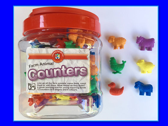 Counters: Farm Animals