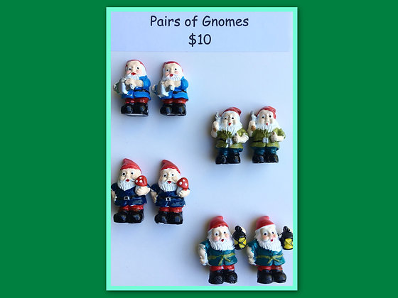 Miniature Packs: Gnomes - for Barrier Games and Sand Play