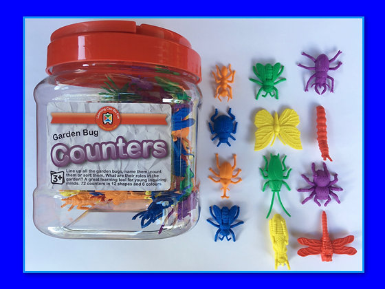 Counters: Garden Bugs