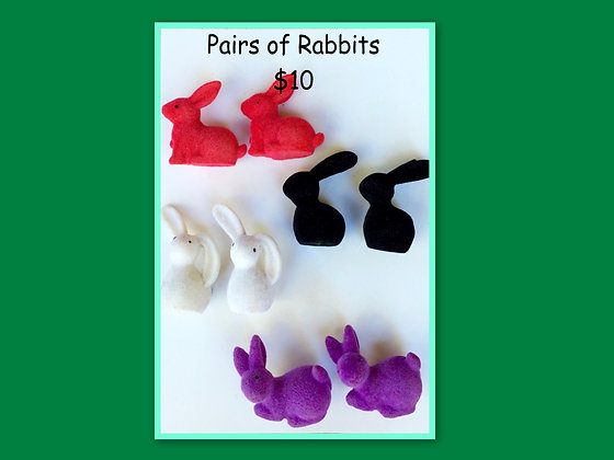 Miniature Packs: Rabbits - for Barrier Games and Small World Play