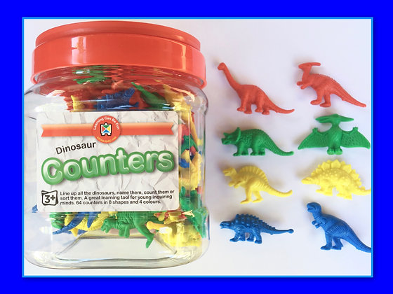 Counters: Dinosaurs