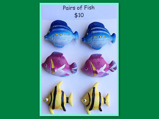 Miniature Packs: Fish - for Barrier Games and Sand Play