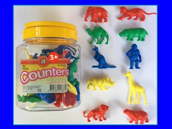 Counters: Wild Animals