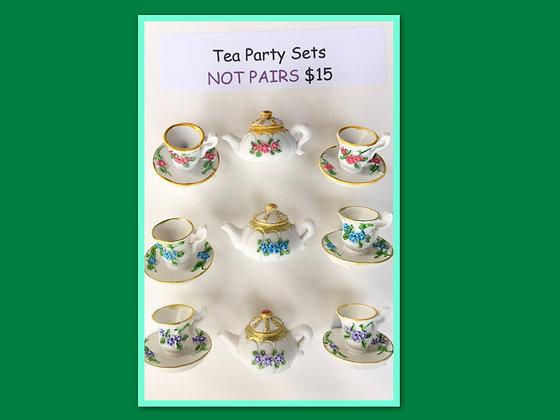 Miniature Pack: Tea Party Set