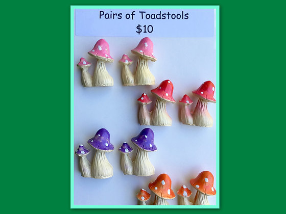Miniatures Pack- Toadstools