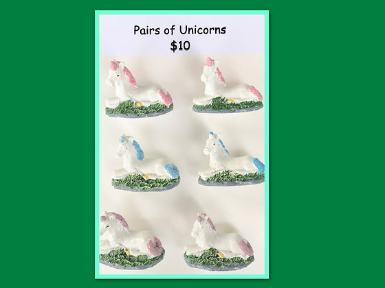 Miniature Packs: Unicorns for Barrier Games and Small World Play
