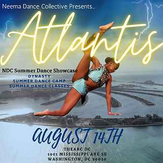 NDC ATLANTIS IN-PERSON Recital Ticket
