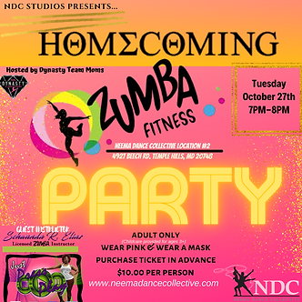 NDC's PINK! Zumba Party