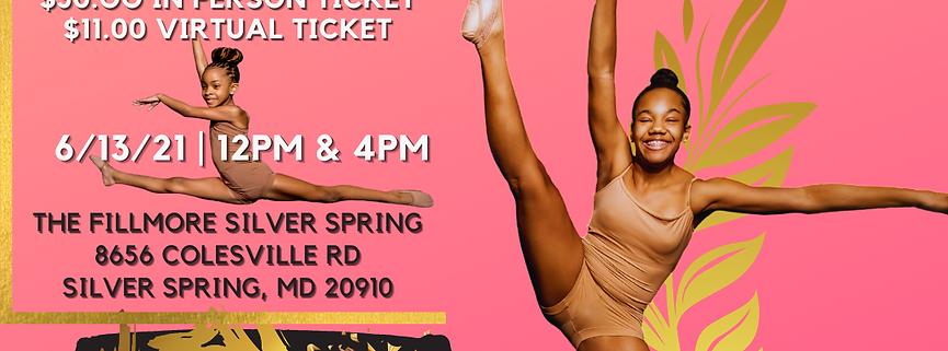 NDC Homecoming VIRTUAL Recital Ticket