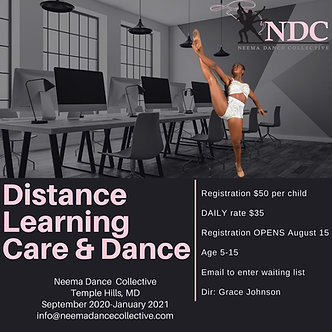 NDC Distance Learning Care & Dance
