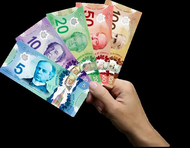 mano con dolar canadiense.png