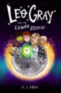 Leo Gray and the Lunar Eclipse Book Cover