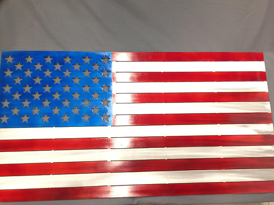 Blank American Flag