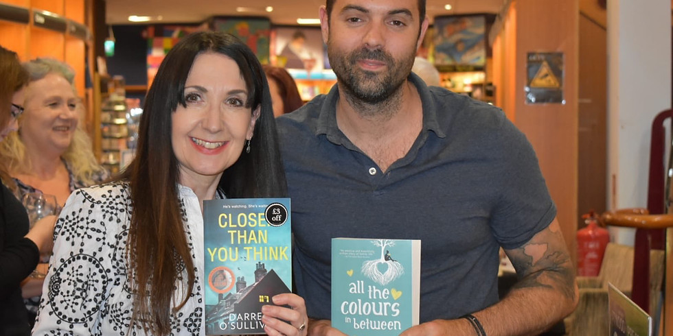 Authors in conversation - Eva Jordan and Darren O'Sullivan