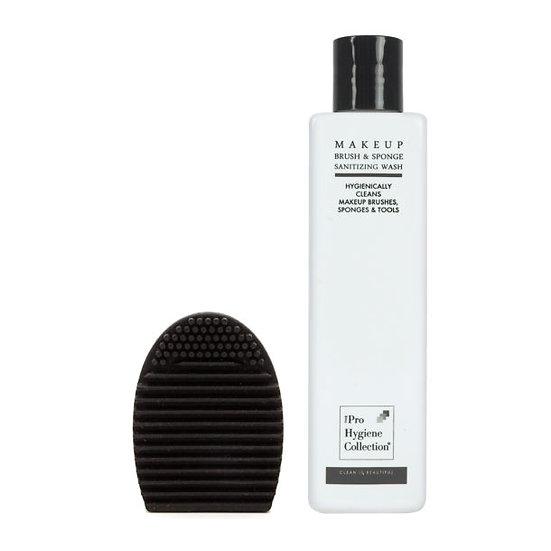The Pro Hygiene Collection® Makeup Brush & Sponge Sanitizing Wash & Brush Egg