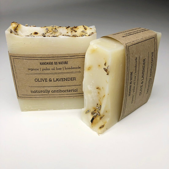 Handmade Olive and Lavender hand soap 100g