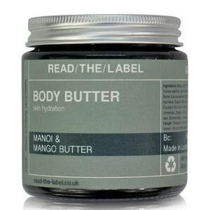 Read-The-Label Body Butter 100g MANOI DE TANHITI, MANGO BUTTER & ORGANIC COCOA