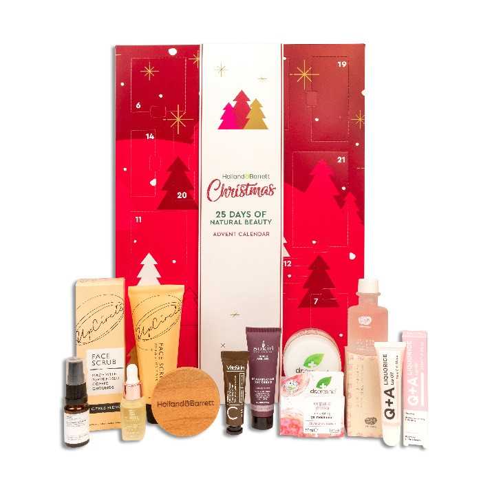 Holland & Barrett launch £40 vegan beauty Christmas advent calendar
