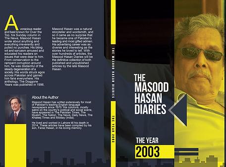 The Masood Hasan Diaries: The Year 2003