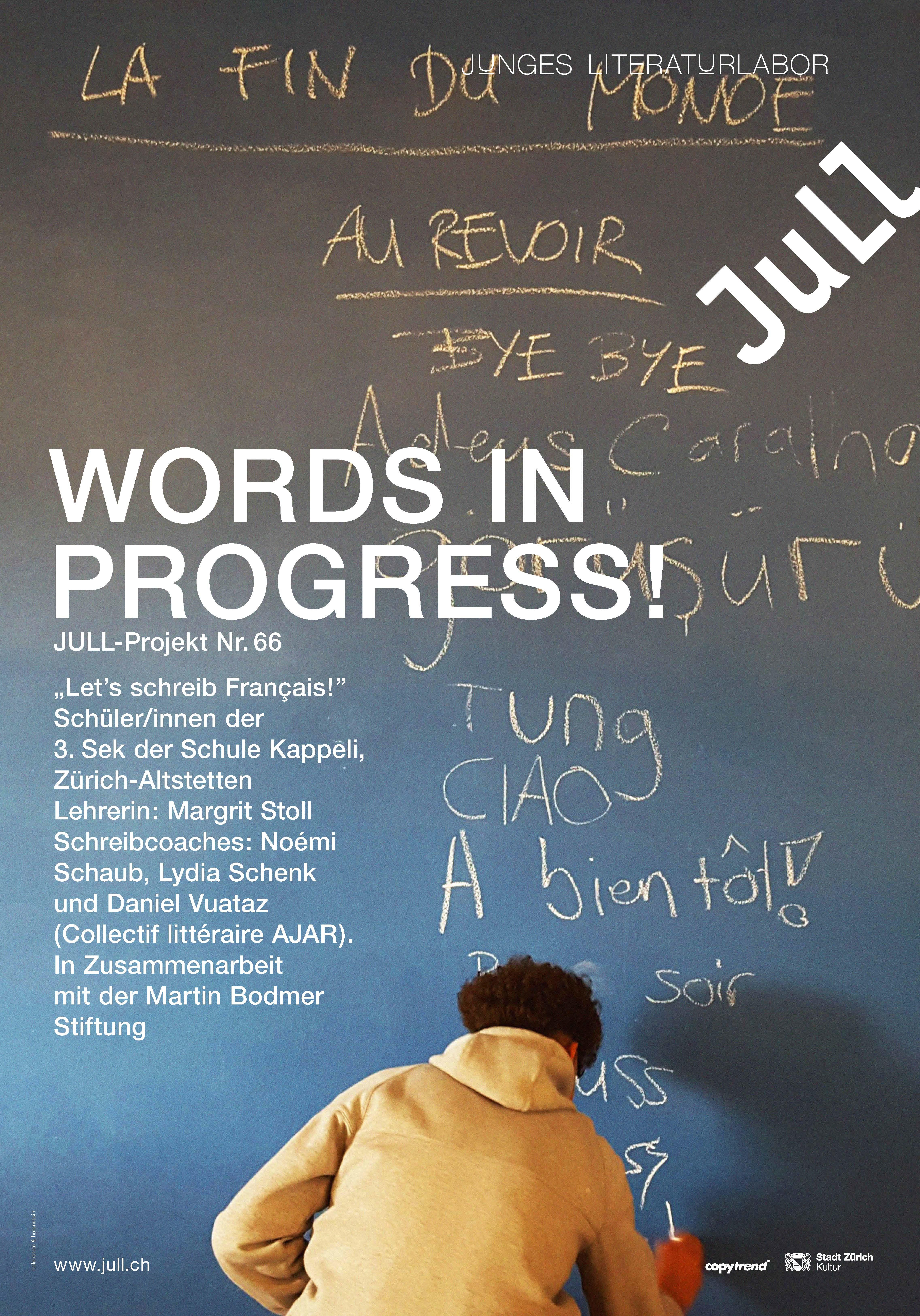 Words in progress!