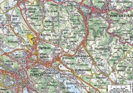 Zwischen Winterthur und Zürich