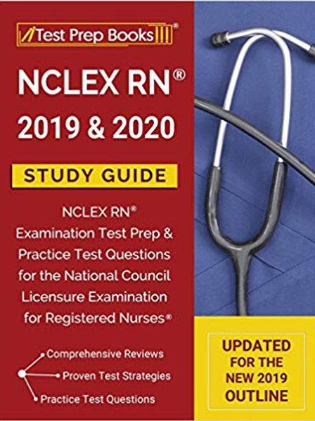 NCLEX RN 2019 & 2020 Study Guide: NCLEX RN Examination Test Prep & Practice Test