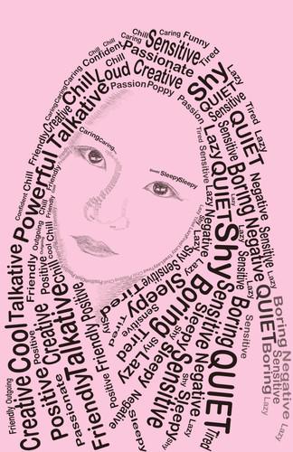 Typography Self Portrait