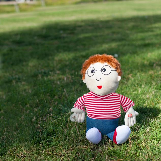 Norman outside