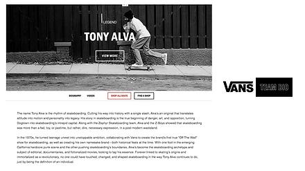 VANS Tony Alva