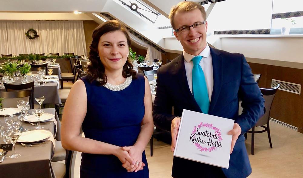 Svatební kniha hostů - Radka&Martin
