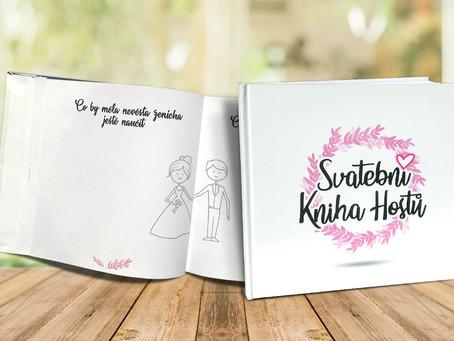 Hledáte originální zábavu pro hosty? Zkuste Svatební knihu hostů.