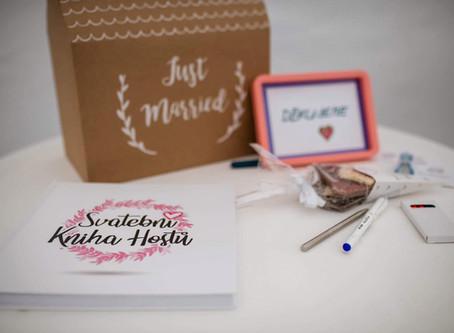Proč by Svatební kniha hostů neměla chybět na Vaší svatbě?