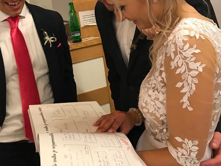 Svatební kniha hostů – kniha plná emocí