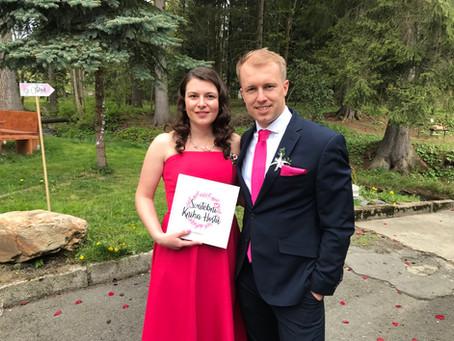 Originální, úžasná, dokonalá - co říkají novomanželé na Svatební knihu hostů?