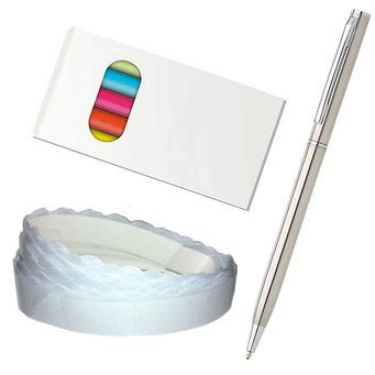 Svatebni kniha hostu - pastelky pero fotolepky
